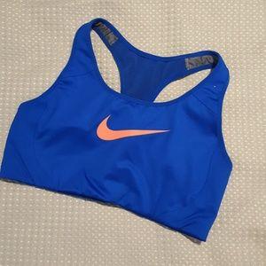 Nike sports bra - M - blue - EXER0014